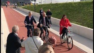 Download Fiets-en voetgangerstunnel in Venlo geopend Video