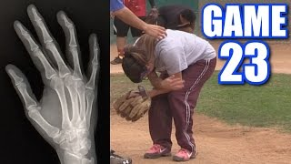 Download CIARA'S BOYFRIEND BREAKS HER FINGER! | On-Season Softball Series | Game 23 Video