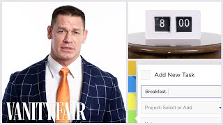 Download Everything John Cena Does in a Day | Vanity Fair Video