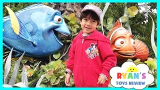 Download Amusement Park for Kids Rides! Frozen Ever After Ride at Epcot! Meeting Disney Elsa and Anna IRL Video