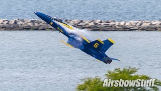 Download US Navy Blue Angels - Takeoffs - Cleveland National Airshow 2016 Video