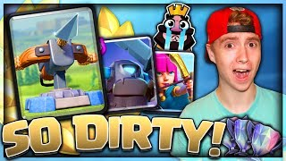 Download NEW X-Bow CYCLE DECK! So DIRTY & So GOOD! | Clash Royale Video