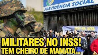 Download MILITARES NO INSS | O QUE BOLSONARO NÃO CONTA Video