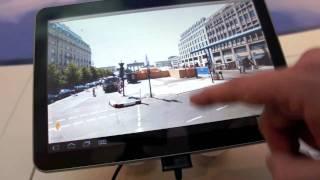 Download Google Maps 5.1.1 auf Google Android Honeycomb und dem Samsung Galaxy Tab 10.1 Video