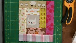 Download Log Cabin Quilt Squares with Scraps | National Quilters Circle Video