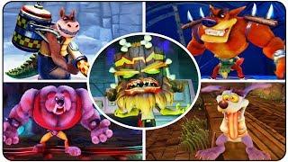 Download Crash Bandicoot N. Sane Trilogy - All Bosses Video