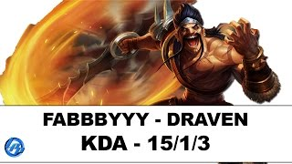 Download Fabbbyyy - Draven vs Ashe - NA SoloQ Video