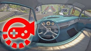 Download 360° Video - Car Jump Arena, Part #2, BeamNG.drive Video