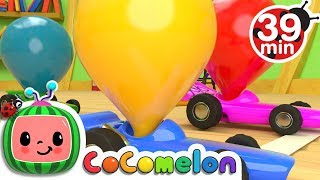 Download Toy Balloon Car Race | + More Nursery Rhymes & Kids Songs - ABCkidTV Video