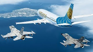 Download Ghost Plane | No One in Control of this Boeing 737 | Helios Airways Flight 522 | 4K Video