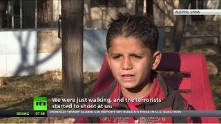 Download 'They slaughtered my brothers & sisters, but let me go': Stories of Aleppo orphans Video