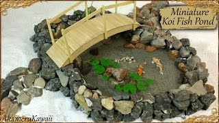 Download Miniature Koi Fish Pond - Polymer Clay/Resin Tutorial Video