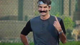 Download Roger Federer's Funniest Moments Video