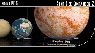 Download Star Size Comparison 2 Video
