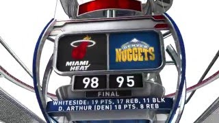 Download Miami Heat vs Denver Nuggets - January 15, 2016 Video