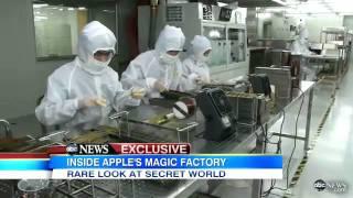 Download Reportagem da ABC - Nightline - Um olhar sobre as fabricas da Foxconn Video