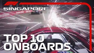 Download Street Fighting, Spark Showers, And The Top 10 Onboards | 2019 Singapore Grand Prix Video