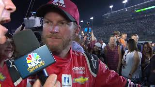 Download Dale Jr. follows through, hand delivers helmet to Rick Hendrick Video