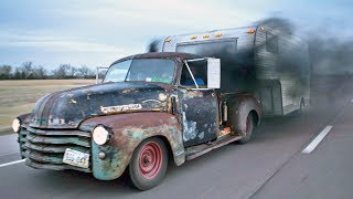 Download Badass Diesel Turbo RAT ROD Pickup Video
