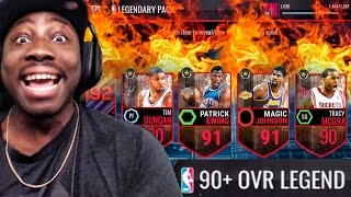 Download 90+ OVR LEGEND TOPPER & CROSSOVER PACK OPENING! NBA Live Mobile 16 Gameplay Ep. 30 Video