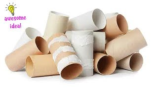 Download 7 Ways To ReUse/Recycle Empty Tissue Roll  Best Out of Waste Video