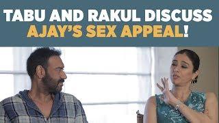 Download Tabu : 'Ajay Devgan tells me never to get married!' #DeDePyaarDe Video