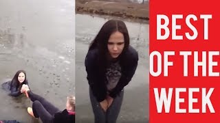 Download Girl Falls In Water Twice and other fails. The best fails. January. Week 4. Video