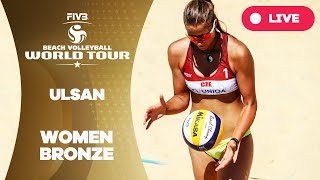 Download Ulsan 1-Star - 2018 FIVB Beach Volleyball World Tour - Women Bronze Medal Match Video