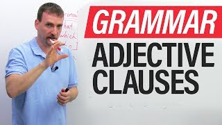 Download Learn English Grammar: The Adjective Clause (Relative Clause) Video