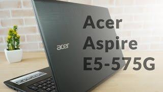 Download Review Acer Aspire E5 575G โน๊ตบุ๊คตัวคุ้มค่า ราคาเบาๆ เล่นเกมลื่นๆ อัพเกรดได้อีก!!! Video