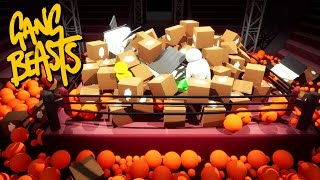 Download Gang Beasts - SO MUCH JUNK!!! [Father and Son Gameplay] Video