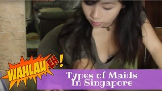 Download Types of Maids in Singapore | WahLau Eh! #23 | Happy TV Video