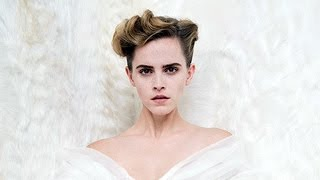 Download Emma Watson Goes Topless For Vanity Fair & Says She's Done Taking Selfies With Fans Video