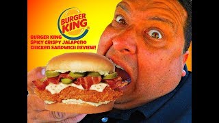 Download BURGER KING® Introduces The New Spicy Crispy Jalapeno Chicken Sandwich! Video