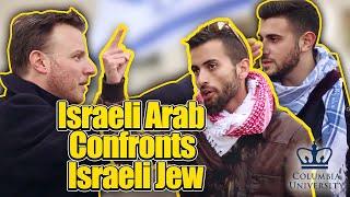 Download Israeli Arab confronts Israeli Jew at Columbia University Video