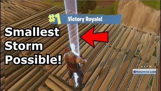Download Fortnite Smallest Storm Eye Possible solo Win! PS4 Video