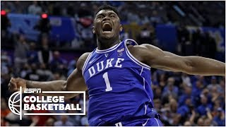 Download Zion Williamson scores 31 in Duke's win vs. North Carolina | College Basketball Highlights Video