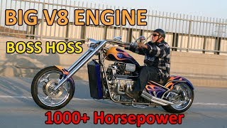 Download BIG ENGINE with 1000+ Horsepower - BOSS HOSS Video