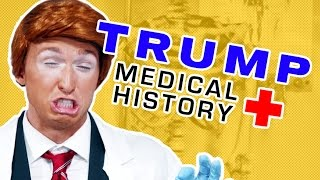 Download DONALD TRUMP'S MEDICAL HISTORY (BTS) Video