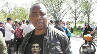 Download Moses Talks About His Altercation With The Masked Muslim - Speakers Corner Video