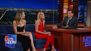 Download Sara & Erin Foster Are The Butts Of Their Own Jokes Video