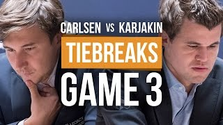 Download Karjakin vs Carlsen: World Championship Tiebreak Game 3 Video
