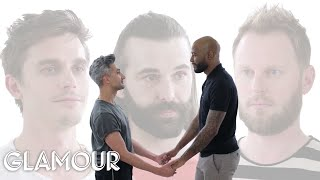 Download Queer Eye's Stars Take a Friendship Test | Glamour Video