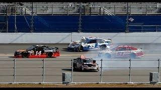 Download Hard crash for Carl Edwards at the 2013 Budweiser Duel 1 Video