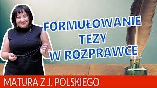 Download 02 Formułowanie tezy w pracy z języka polskiego Video