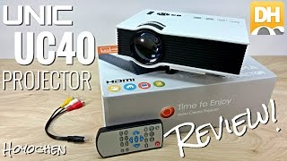 Download Unic UC40 Projector - $100 - [Unboxing & Review] - 800 Lumens - 130″ - HDMI - LED - DHgate Video