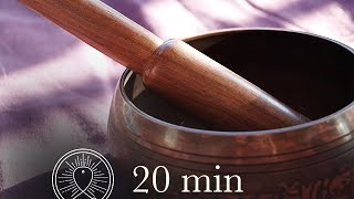 Download 20 min Awareness Meditation Music Relax Mind Body: Chakra Cleansing and Balancing Video