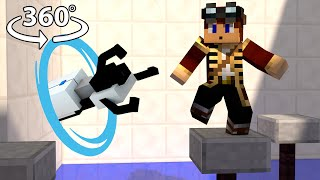 Download Portal 2 - Minecraft 360° Video Video
