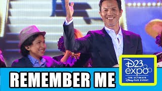 Download Coco Cast Sing ″Remember Me″ At Disney Pixar D23 Expo Video