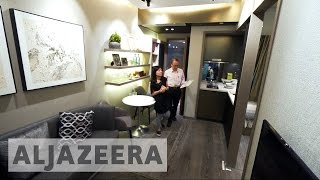 Download Micro flats tackle Hong Kong's high housing prices Video